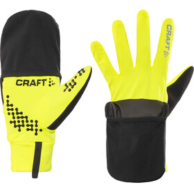 Craft Hybrid Weather Gloves Unisex, flumino/black